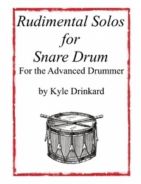 "This collection of 8 original rudimental snare drum solos represents an advanced knowledge and mastery of the 40 International Drum Rudiments and a select few of the ever-emerging hybrid rudiments. Also included are two well-known traditional solos from the Civil War - ""Downfall of Paris"" and ""Three Camps."""