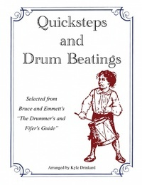 The selection of 33 quicksteps (marches) and other drum beatings compiled for this printing are presented as examples of the rudimental stylings of the late 1800's, post-Civil War. They are appropriate for beginner to intermediate students and provide a glimpse at the origins of our rudimental history.